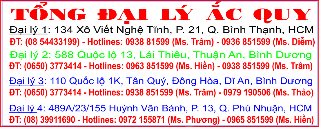 DAI LY BINH AC QUY DELKOR TRUONG LONG